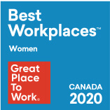Certified Great Place To Work for Women