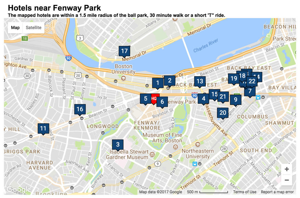 Hotels-near-Fenway boston sports tourism