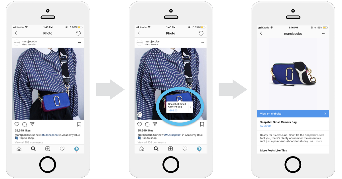 Instagram Business Profiles - Shoppable Posts