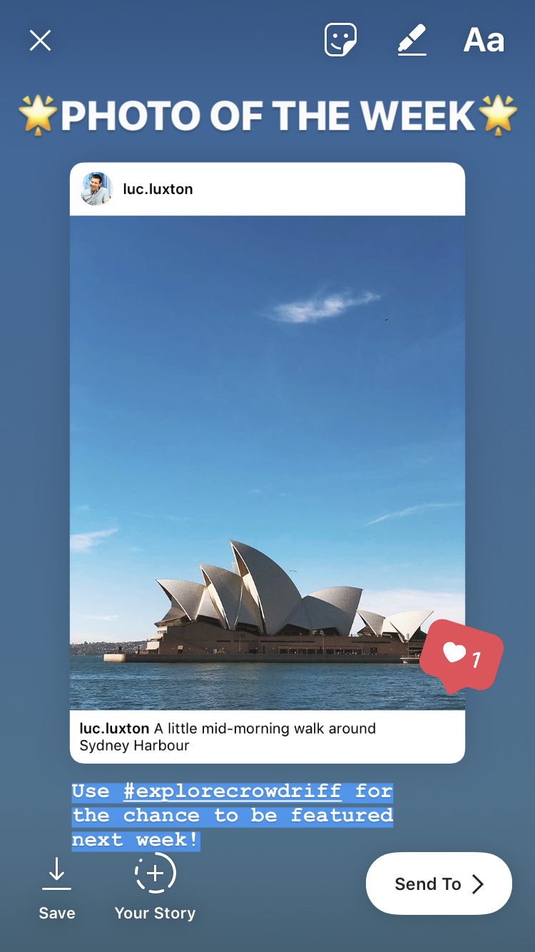 Instagram stories share feed posts 7