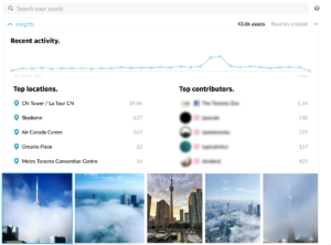 CrowdRiff social photos search insights
