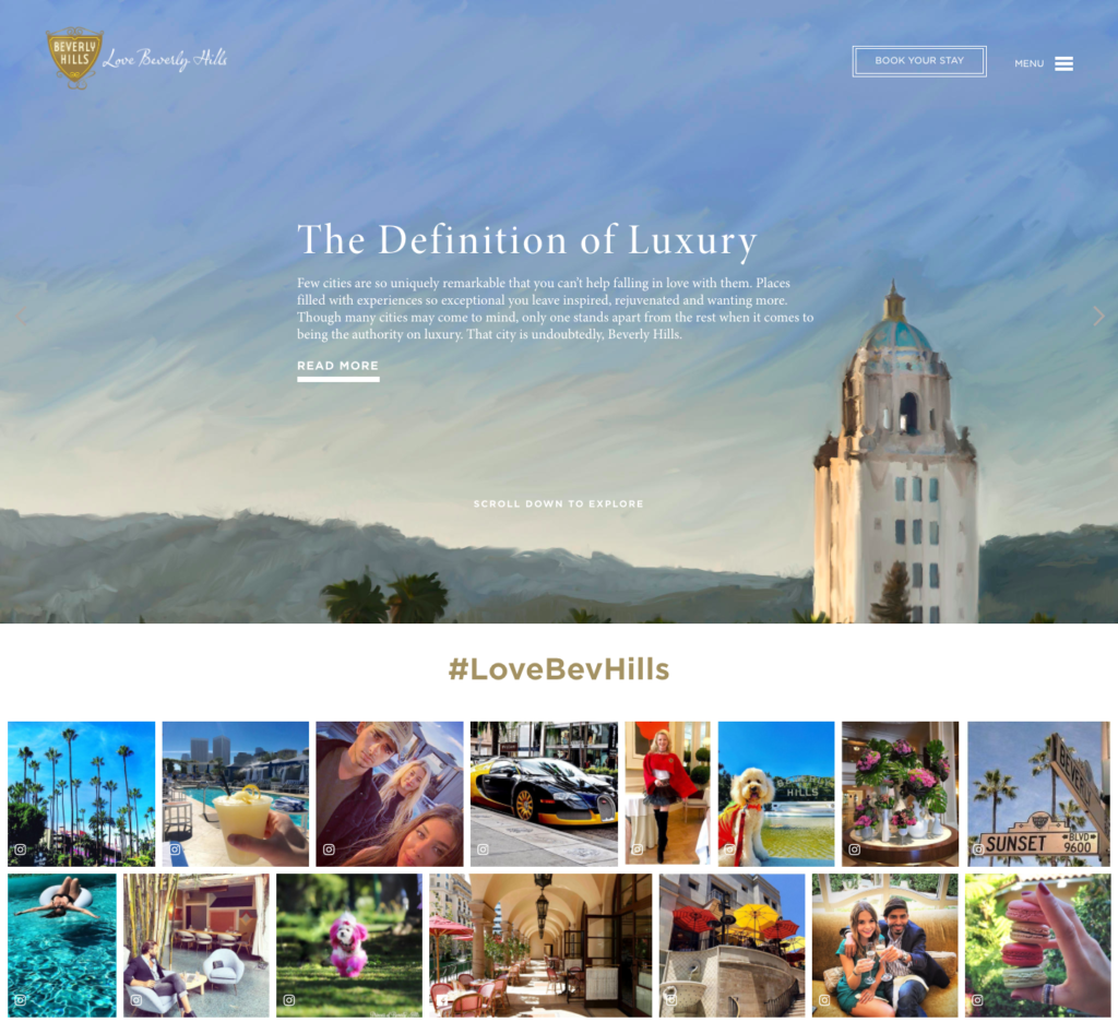 Love Beverly Hills Homepage