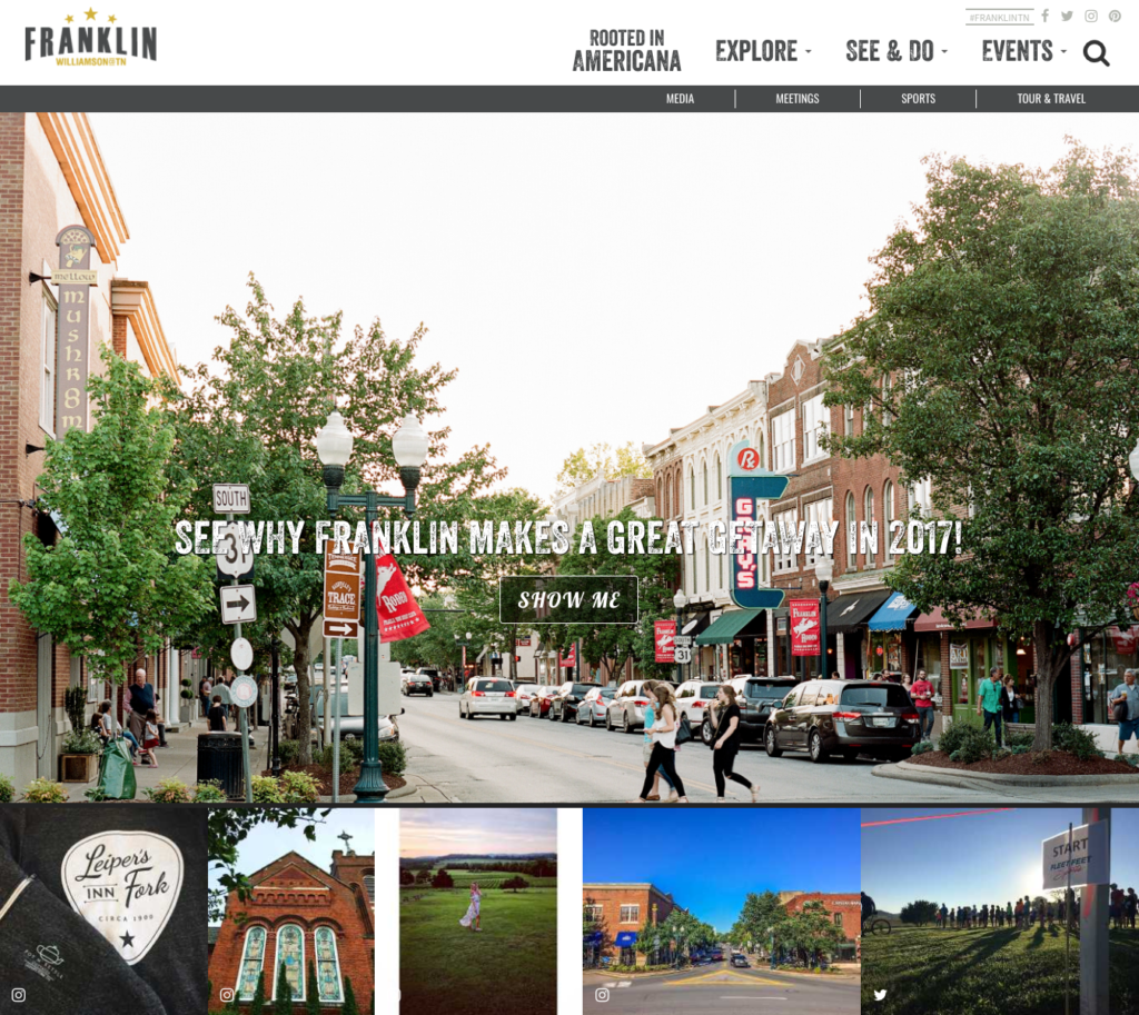 visit franklin homepage