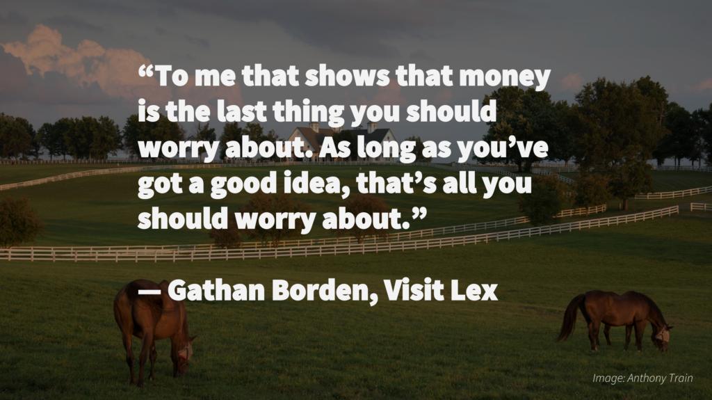 Gathan Borden Visit Lex