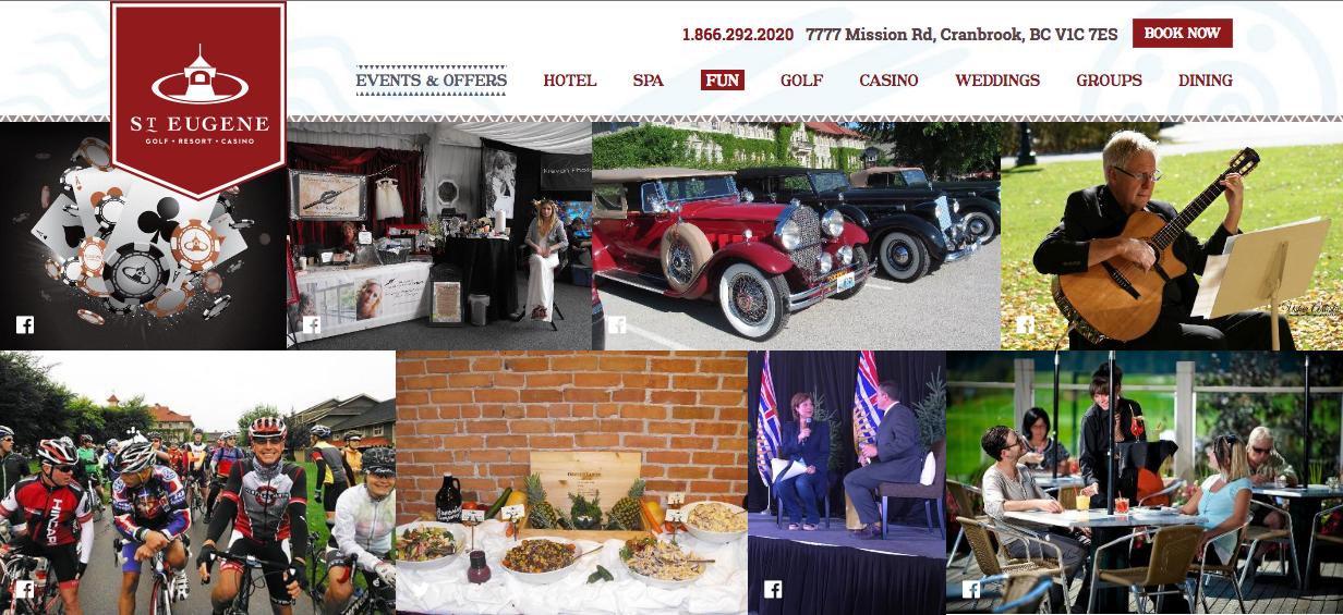 St-Eugene-Events-Website