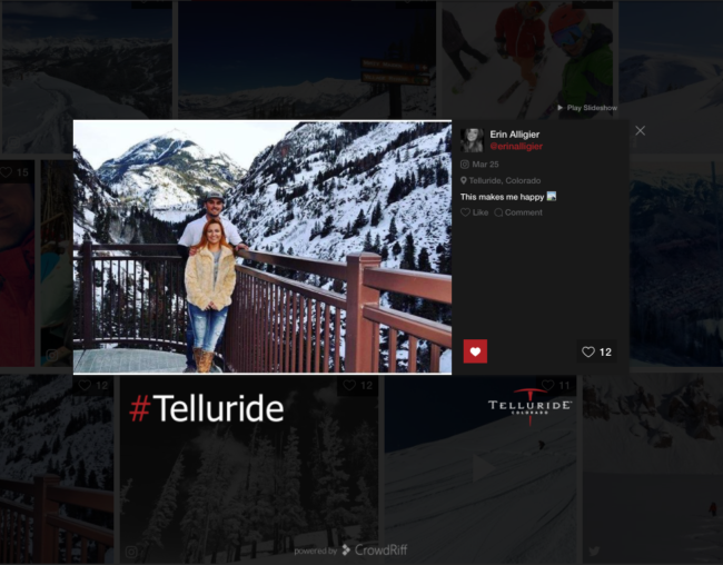 Small DMOs Doing Big things with Visuals telluride-social-hub