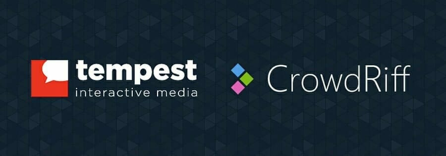Tempest and CrowdRiff partnership