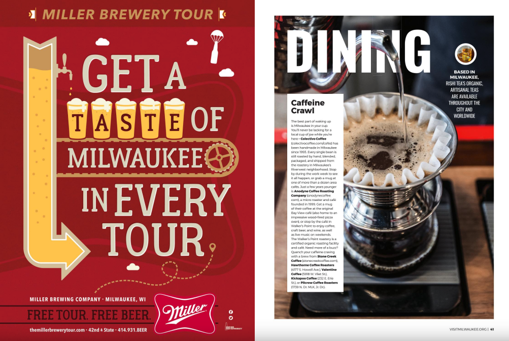 Visit Milwaukee Ads
