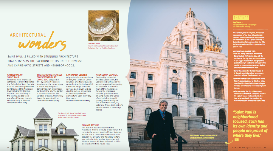 Visit Saint Paul Insider's Guide ted architect