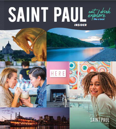 Visit Saint Paul insider's guide cover