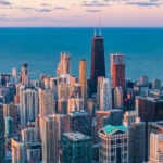 Ariel view of Chicago