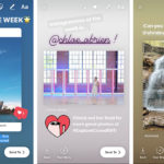 instagram share feed posts to stories header