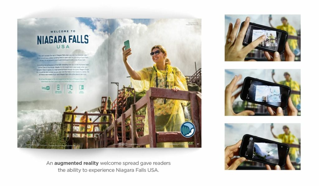 niagara falls usa augmented reality visitor guide