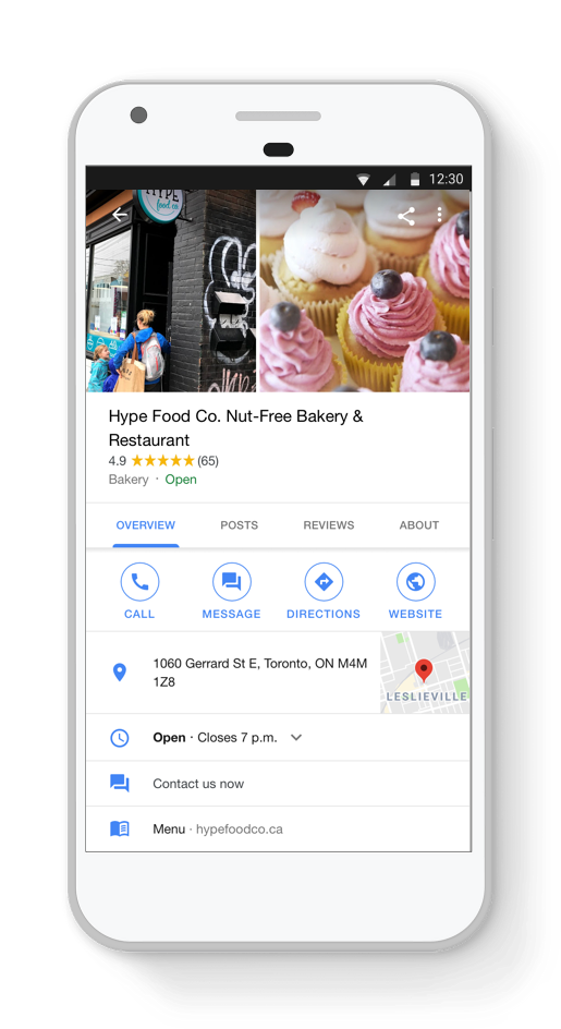 google my business_tourism marketer channels