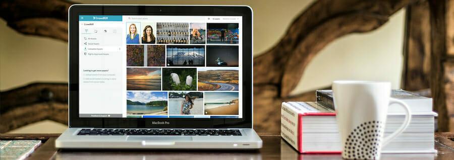 CrowdRiff Platform launch blog header