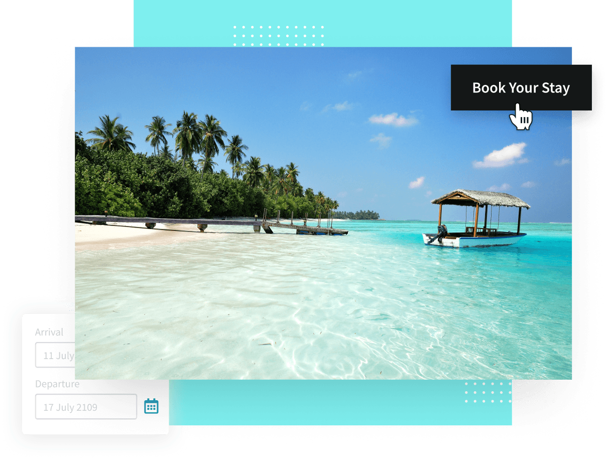 Drive direct bookings with visual content that converts