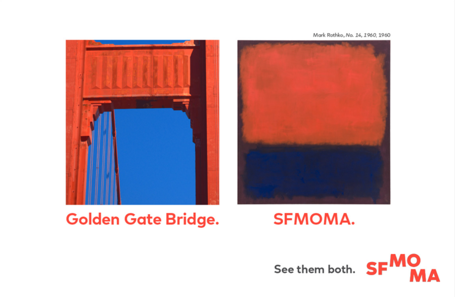 sfmoma see them both golden gate bridge