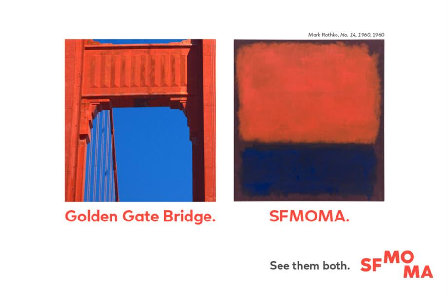 sfmoma see them both golden gate bridge