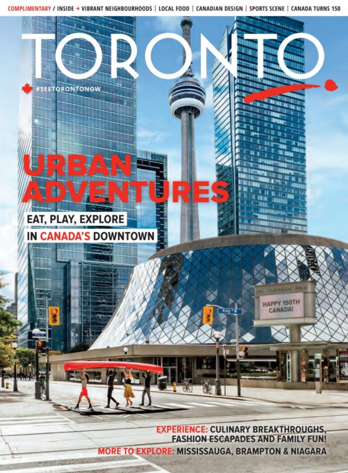 tourism toronto dmo visitor guide cover