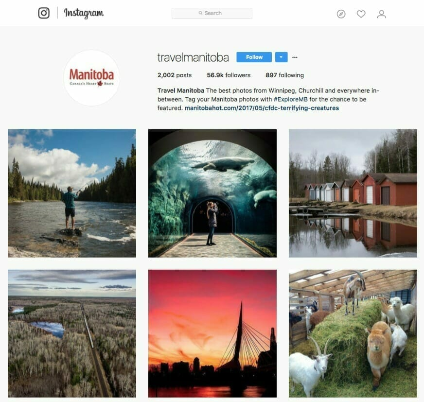 travel manitoba instagram