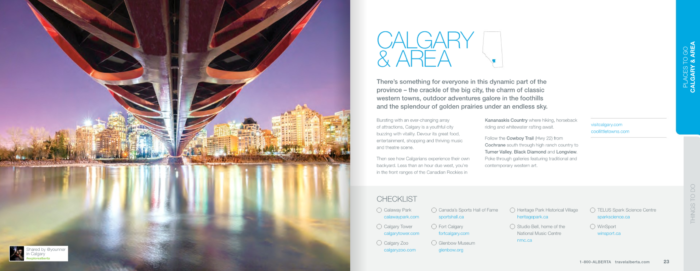 dmo visitor guide travel alberta links